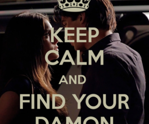 damon, keep calm, and ian somerhalder image