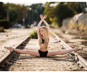 dance, ballet, and split image