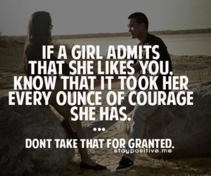 girl, love, and courage image