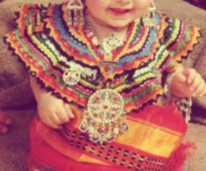 kabyle baby traditional image