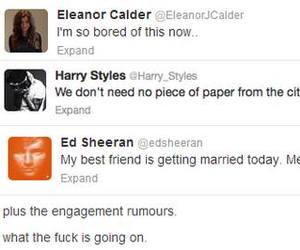 married, ed sheeran, and larry stylinson image