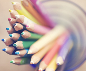 pencil, colorful, and photography image
