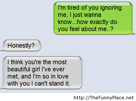 Tired Of Being Ignored Shared By Thefunny On We Heart It