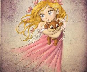 disney, princess, and giselle image