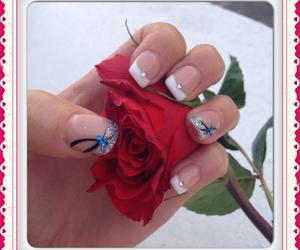 nail art, manucure, and nails image