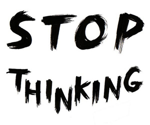stop and thinking image