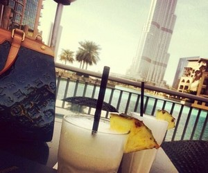 cocktail, restaurant, and summer image