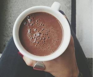 chocolate, coffee, and hot chocolate image