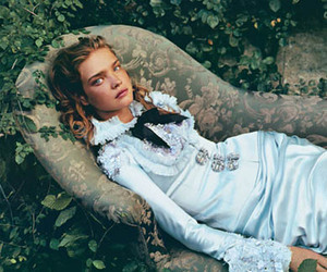 fashion, model, and Natalia Vodianova image