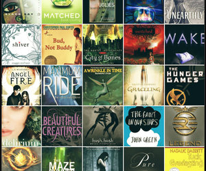 books, pure, and fault in our stars image