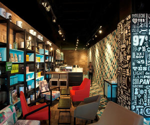 coffee shop and interior design image