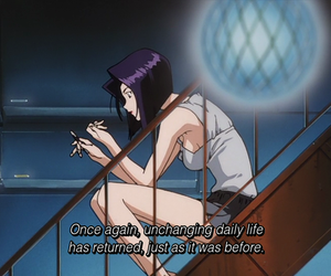 anime, Cowboy Bebop, and subtitles image
