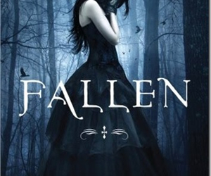 fallen, book, and lauren kate image