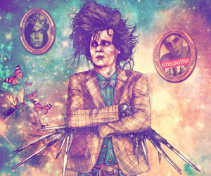 hipster, johnny depp, and art image