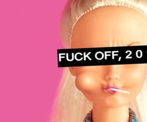 barbie, fuck, and fuckoff image