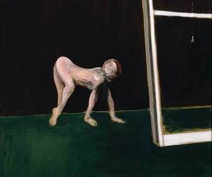 Francis Bacon and paralytic child image
