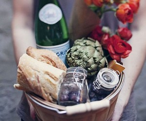 Sweet Nothings - baguettes and pellegrino