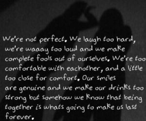 quote, best friend, and love image