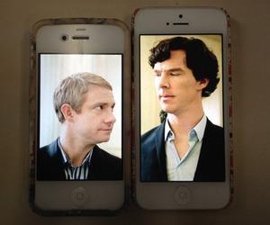 sherlock, john watson, and bbc image