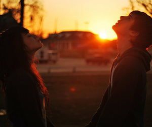 girl, love, and couple image