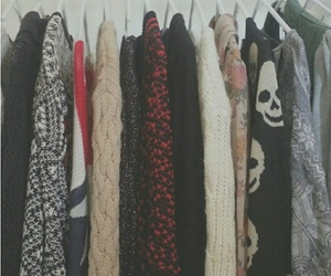 sweater, clothes, and grunge image