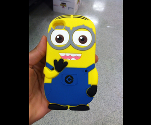 minions, iphone, and case image