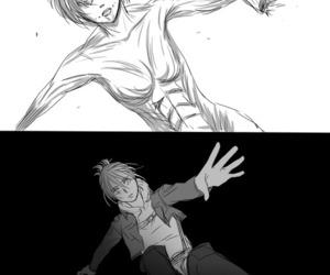 anime, manga, and shingeki no kyojin image