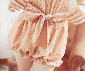 cute, kfashion, and bow image