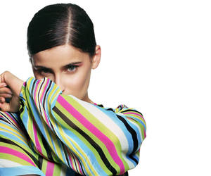 celebrity, colourful, and Nelly Furtado image