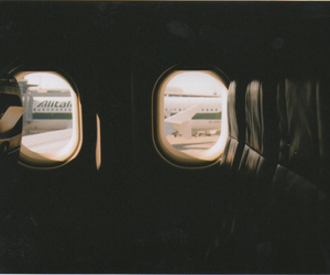 vintage, airplane, and photography image