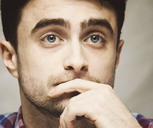 blue eyes, dan radcliffe, and handsome image