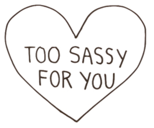 sassy, heart, and quotes image