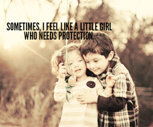 protection, girl, and cute image