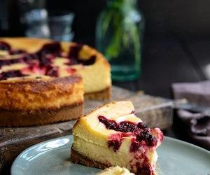 cheesecake, dessert, and food image