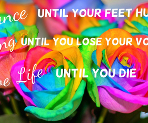 dance, live, and quotes image