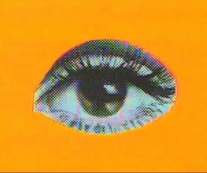 grunge, eye, and eyes image
