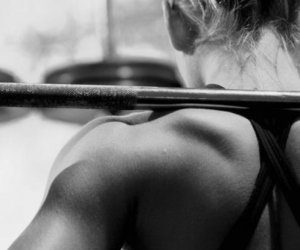 gym, motivation, and pain image