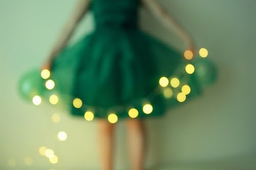 dress, green, and light image