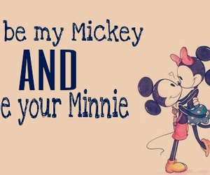 love, minnie, and mickey image