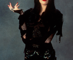 addams family, Anjelica Huston, and morticia image