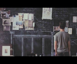 500 Days of Summer, black wall, and bw image