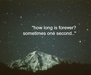 forever, quote, and love image