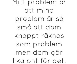 swedish, problem, and quote image