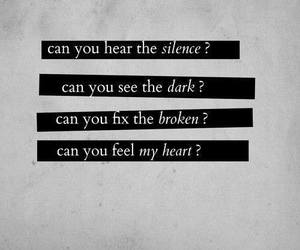 bring me the horizon, text, and heart image