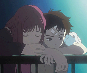 anime, black and white, and gif image