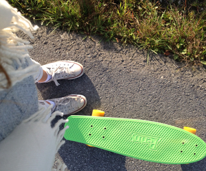 penny, sk8, and skate image