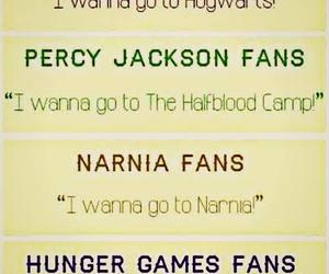 narnia, harry potter, and percy jackson image