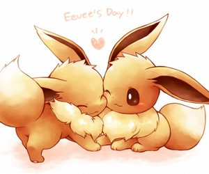 eevee, evoli, and pokemon image