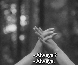 always, bye, and friends image