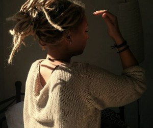 dreadlocks, dreads, and piercing image